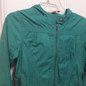 Cargo jacket/windbreaker with hood